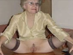 Nackt dürre granny Free Grannies