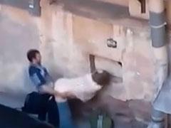 Omafick heimlich gefilmt