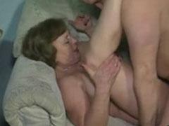Sex mit einer deutschen Oma