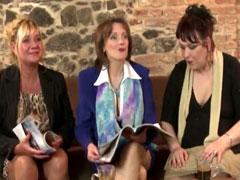 Drei geile Omas teilen sich einen Schwanz
